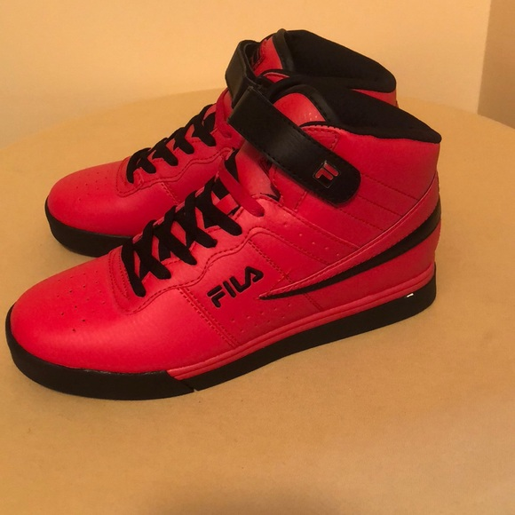 fila red shoes for men Shop Clothing